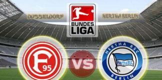 Dusseldorf vs Hertha Berlin