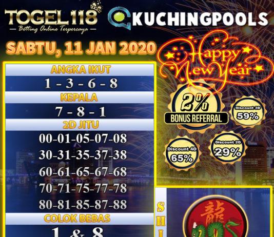 prediksi togel kuching 11 januari 2020