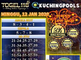 prediksi togel kuching 12 januari 2020