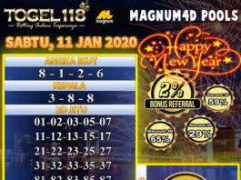 prediksi togel magnum4d 11 januari 2020