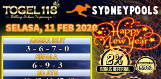 Prediksi Togel Sydney 11 Februari 2020