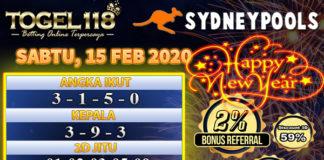 Prediksi Togel Sydney 15 Februari 2020