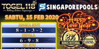 Prediksi Togel singapore 15 februari 2020