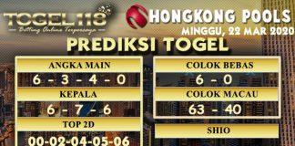 prediksi togel hongkong 22 maret 2020