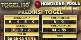 Prediksi Togel hongkong 03 April 2020