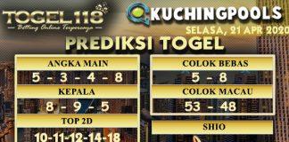 prediksi togel Kuching 21 April 2020