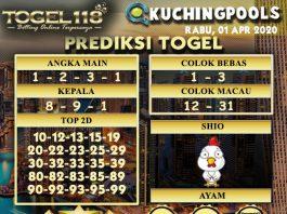 Prediksi togel kuching 01 April 2020