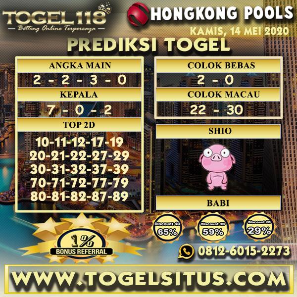 Prediksi togel Hongkong 14 Mei 2020