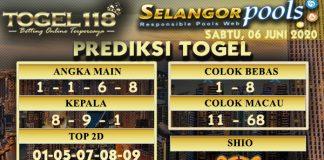 prediksi Togel Selangor 06 Juni 2020