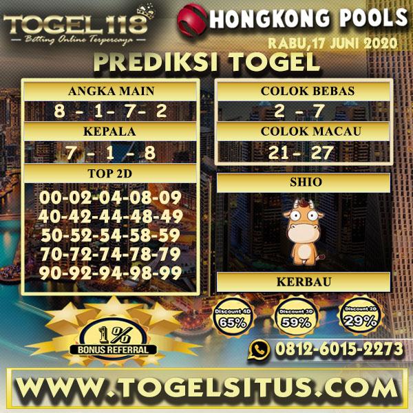 prediksi togel hongkong 17 juni 2020