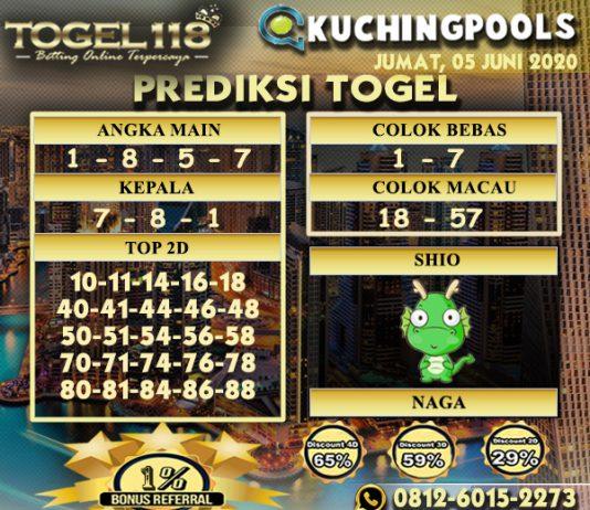 Prediksi Togel Kuching 05 Juni 2020