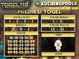 Prediksi Togel Kuching 02 Juni 2020