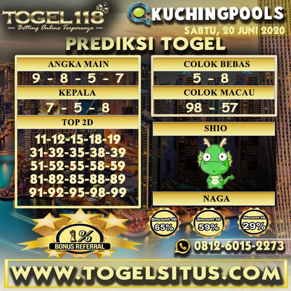 prediksi Togel Kuching 20 Juni 2020