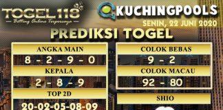 prediksi Togel Kuching 22 Juni 2020