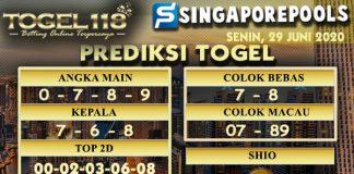 prediksi Togel Singapore 29 Juni 2020