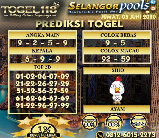 prediksi Togel Selangor 05 juni 2020
