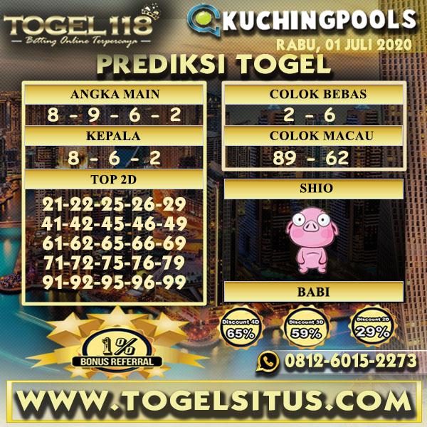 prediksi Togel Kuching 01 Juli 2020