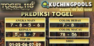 prediksi Togel Kuching 02 Juli 2020