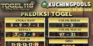 prediksi Togel Kuching 05 juli 2020