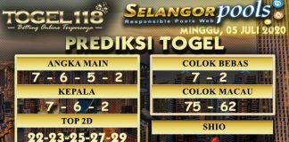prediksi Togel Selangor 05 Juli 2020