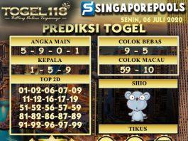 prediksi Togel Singapore 06 Juli 2020