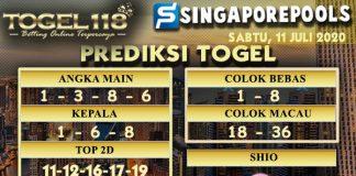 prediksi Togel Singapore 11 Juli 2020