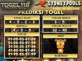 prediksi Togel Sydney 08 Juli 2020