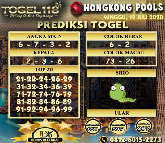 prediksi Togel hongkong 12 Juli 2020