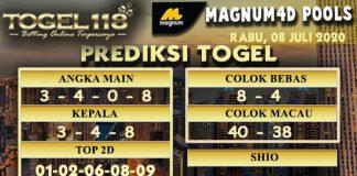 prediksi togel Magnum4D 08 Juli 2020