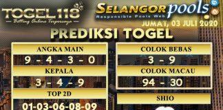 prediksi togel Selangor 03 juli 2020