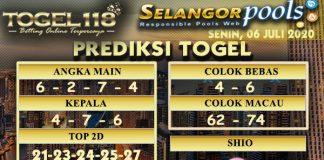 prediksi togel Selangor 06 juli 2020