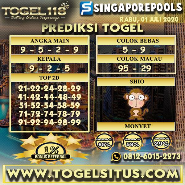 prediksi togel Singapore 01 juli 2020