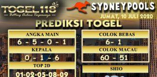 prediksiTogel Sydney 10 Juli 2020