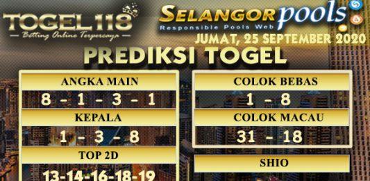 prediksi Togel Selangor 25 September 2020