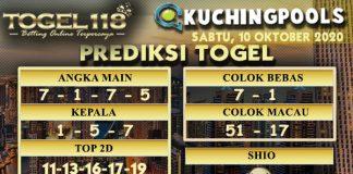 Prediksi Togel Kuching 10 Oktober 2020