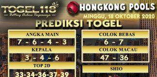 Prediksi Togel Hongkong 18 Oktober 2020