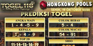 Prediksi Togel Hongkong 19 Oktober 2020