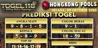 Prediksi Togel Hongkong 20 Oktober 2020