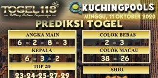 Prediksi Togel Kuching 11 Oktober 2020 Togel118