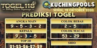 Prediksi Togel Kuching 12 Oktober 2020