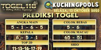 Prediksi Togel Kuching 13 Oktober 2020