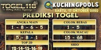 Prediksi Togel Kuching 17 Oktober 2020
