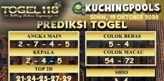 Prediksi Togel Kuching 19 Oktober 2020