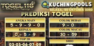 Prediksi Togel Kuching 20 Oktober 2020