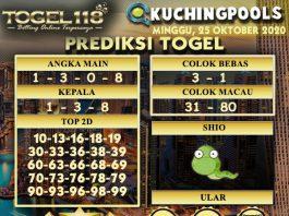 Prediksi Togel Kuching 25 Oktober 2020