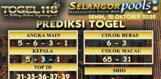 Prediksi Togel Selangor 12 Oktober 2020