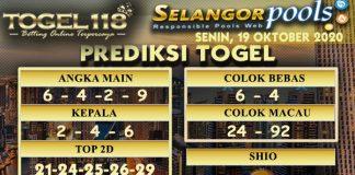 Prediksi Togel Selangor 19 Oktober 2020