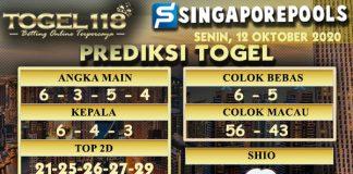 Prediksi Togel Singapore 12 Oktober 2020