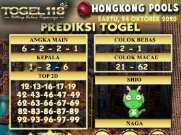 Prediksi Togel Hongkong 24 Oktober 2020