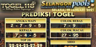 Prediksi Togel Selangor 19 Januari 2021